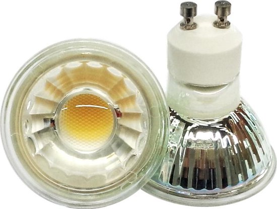 LED SPOT GU10 (220V) 5W WARM WIT 2700K DIMBAAR