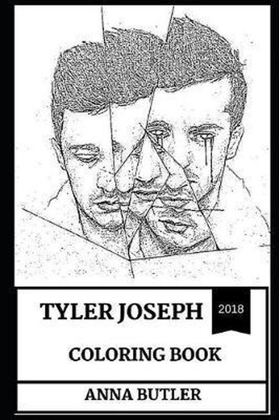 Afbeelding van Tyler Joseph Coloring Book