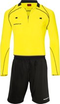 Masita Scheidsrechtersset - Shirts  - geel - XL