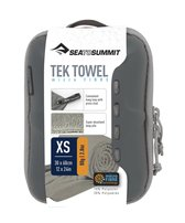 Sea to Summit Tek Towel Reishanddoek - XS - 30x60cm - Grijs