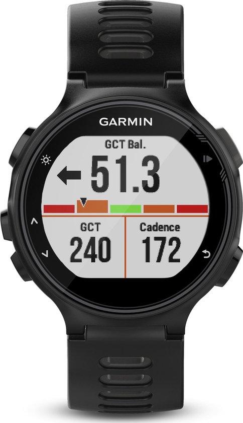 Garmin Forerunner 735XT - GPS multisporthorloge - 44.5 mm - Zwart/grijs