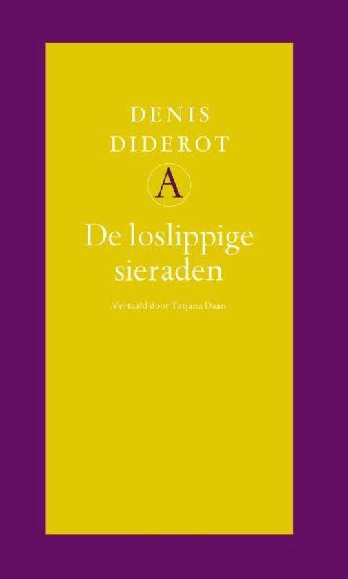 Cover van het boek 'De loslippige sieraden' van Denis Diderot