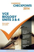 Cambridge Checkpoints VCE Biology Units 3 and 4 2014 and Quiz Me More