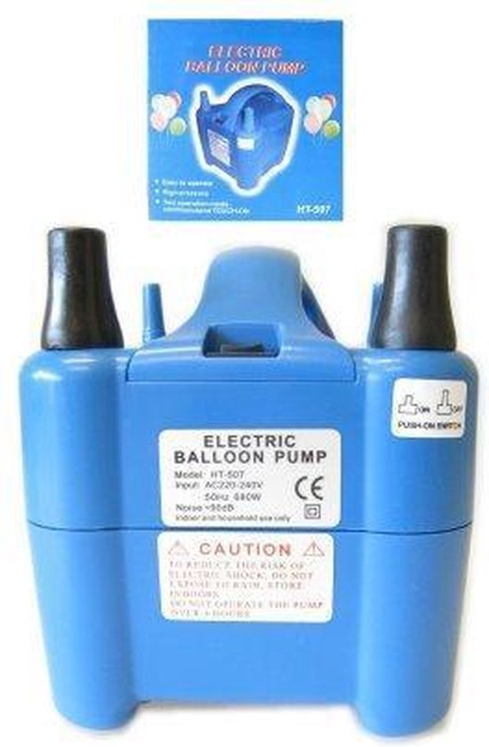 Ballonnenpomp Electrical + 100 ballonnen