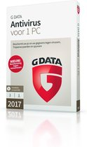 G Data AntiVirus - Nederlands - 1 Apparaat - Windows