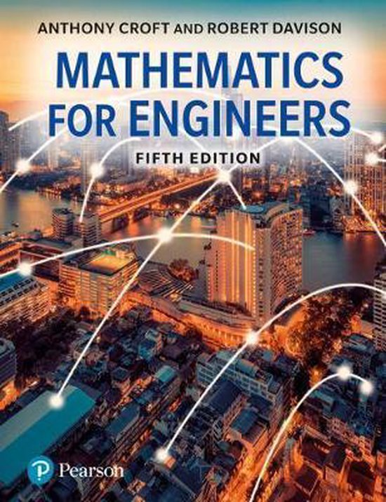 Boek cover Mathematics for Engineers van Anthony Croft (Paperback)