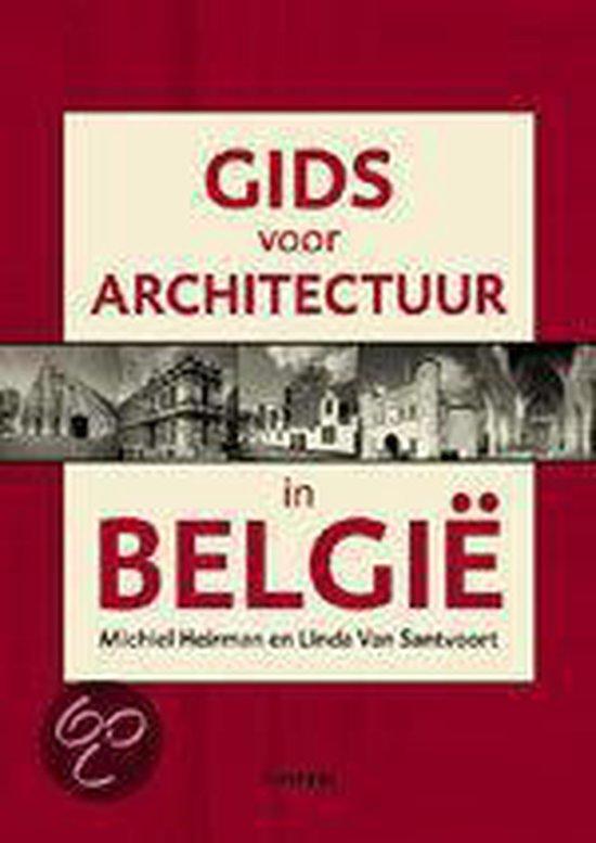 Cover van het boek 'Gids voor architectuur in Belgie'
