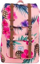 Herschel Supply Co. Little America Mid-Volume Rugzak - Peach Pineapple