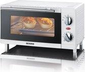 Severin TO 2054 - Mini oven - Vrijstaand - wit