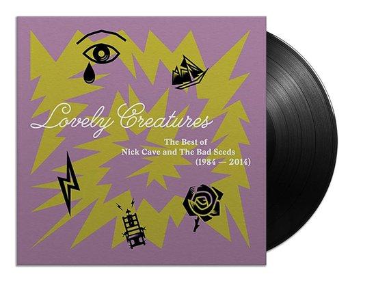 CD cover van Lovely Creatures (3LP) van Nick Cave & The Bad Seeds