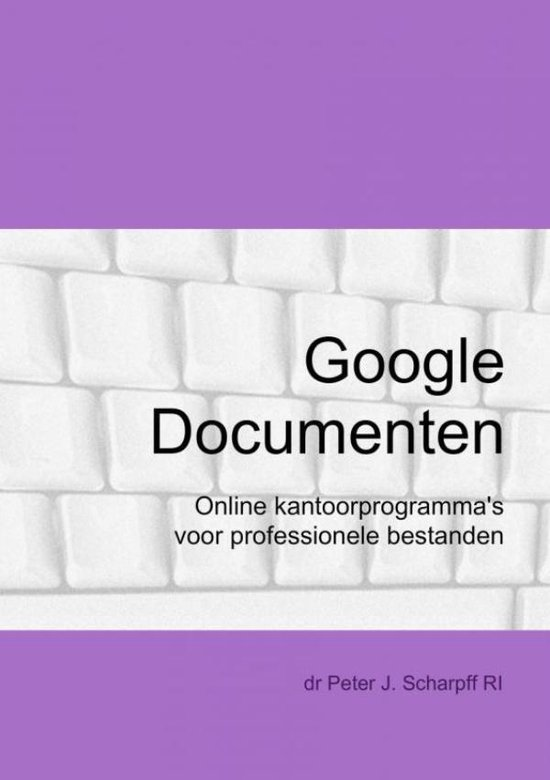 Google documenten - Peter J. Scharpff pdf epub