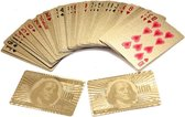 Luxe Poker kaarten set Goud – Pokerkaarten – Kaartspel – Poker set