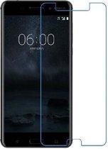 Pearlycase® Gehard Glazen screenprotector / Tempered glass 2.5D 9H voor Nokia 6