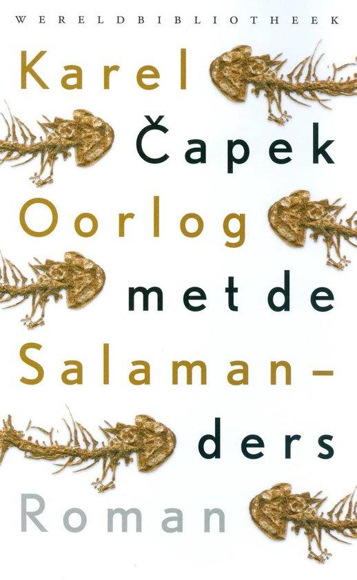 Oorlog met de salamanders - Karel ČApek |