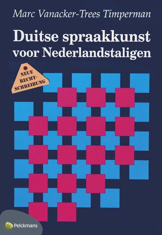 Duitse spraakkunst voor nederlandstaligen - none |