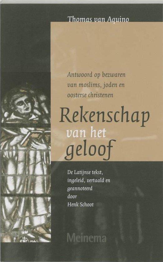 Vertalingen van het Thomas Instituut te Utrecht 3 - Rekenschap van het geloof - T. van Aquino | Fthsonline.com