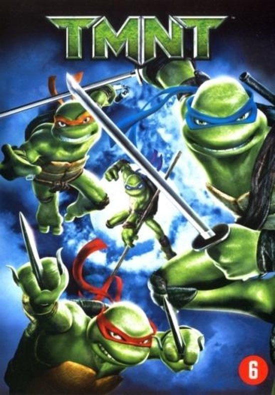 Cover van de film 'Teenage Mutant Ninja Turtles'