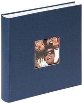 Walther Design FA-208-L Fun - Fotoalbum - 30 x 30 cm - Blauw - 100 pagina's
