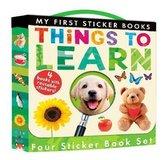 Omslag My First Sticker Books