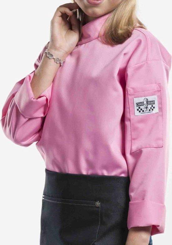 Chaud Devant - Chef Jasje - Koksbuis voor kinderen - Roze - 140-146 = 9-10 jaar