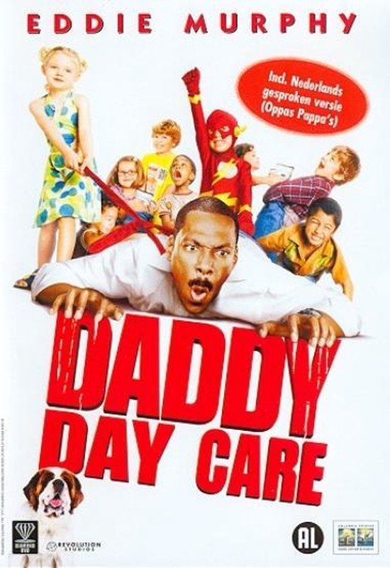 Cover van de film 'Daddy Day Care'