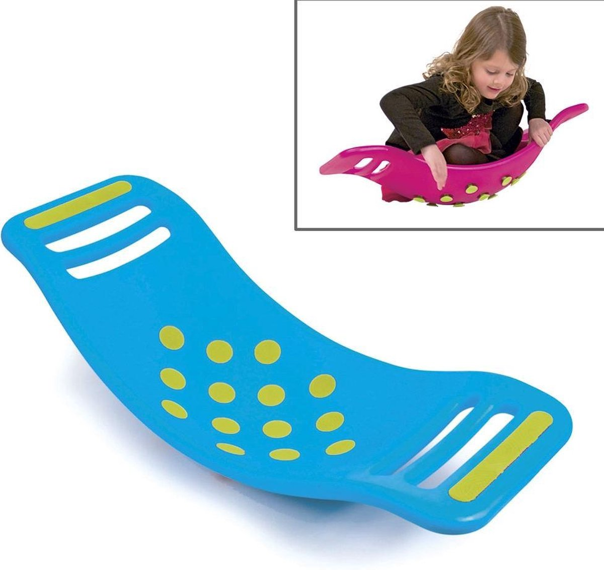 Fat brain Toys - Teeter Popper Balansbord - blauw
