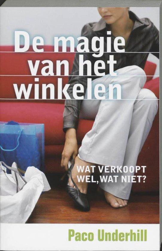 Cover van het boek 'De magie van het winkelen' van Paco Underhill