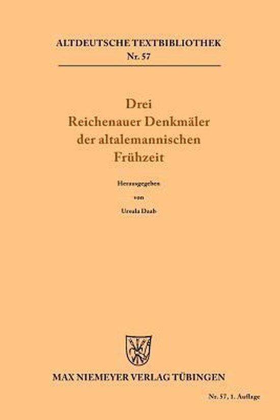 Drei Reichenauer Denkmaler der altalemannischen Fruhzeit