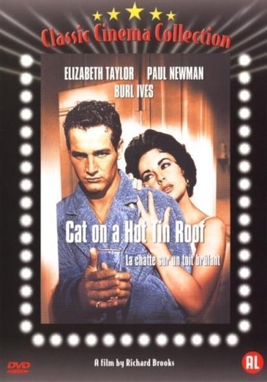 Cover van de film 'Cat On A Hot Tin Roof'