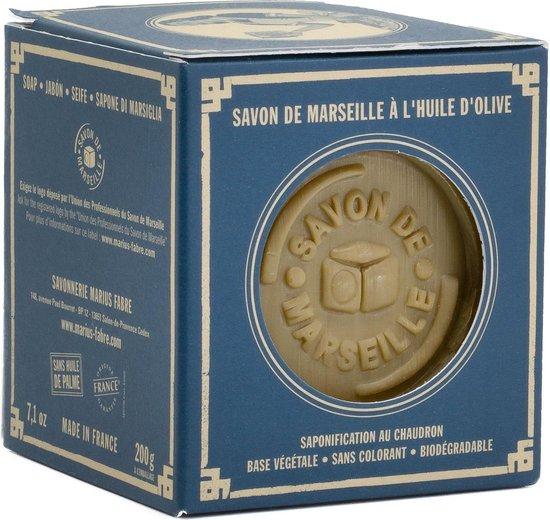 Marseille Zeep (Olijfolie) - Marius Fabre 200 gram