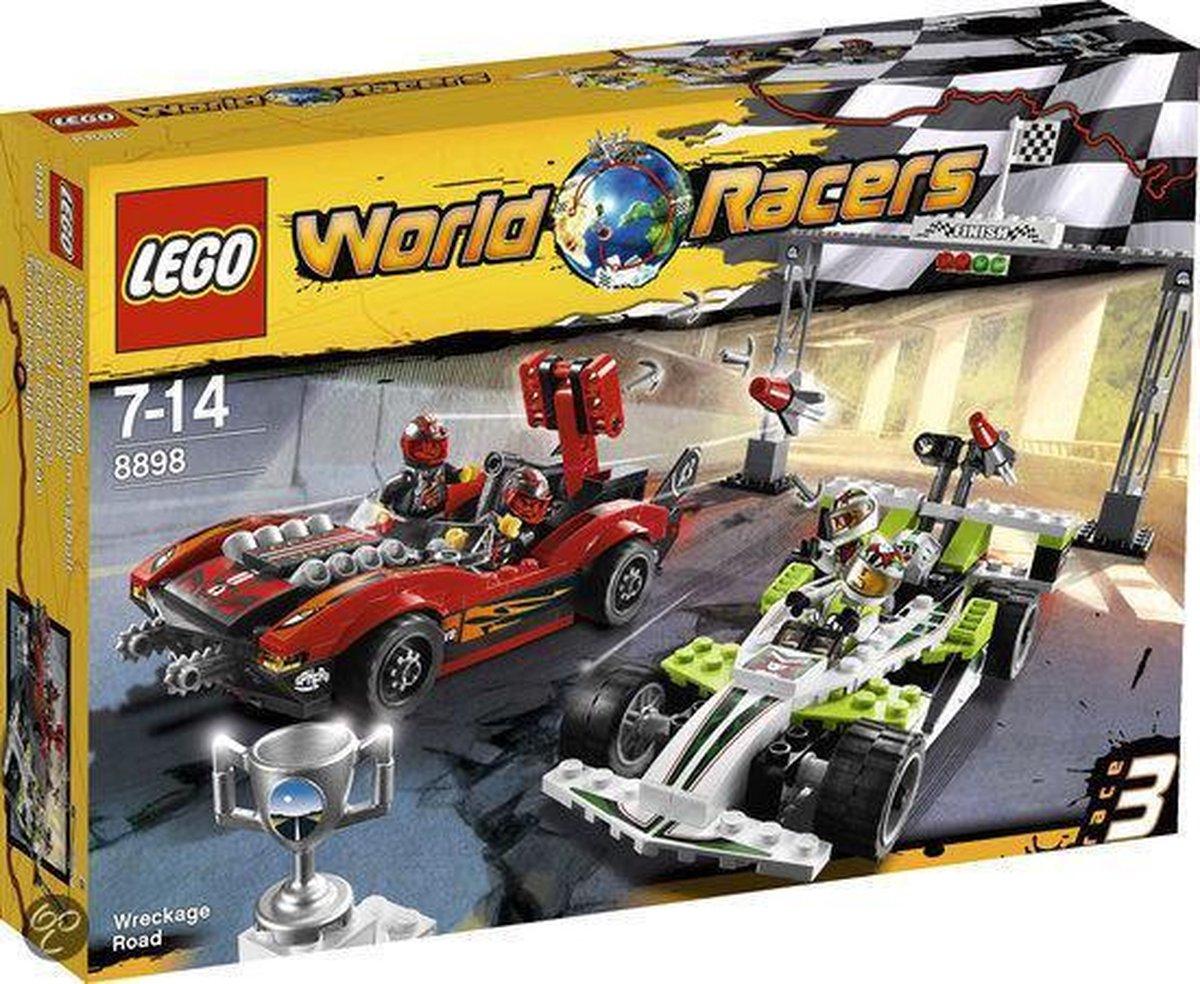 LEGO World Racers Wrakkenweg - 8898
