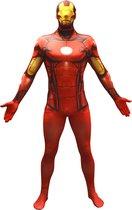 Morphsuits™ Iron Man kostuum voor volwassenen - Verkleedkleding