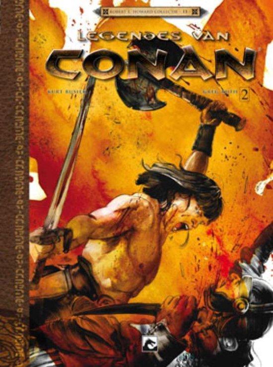 Cover van het boek 'Conan Legendes Van / Hc03. Geboren Op Het Slagveld 2/3'