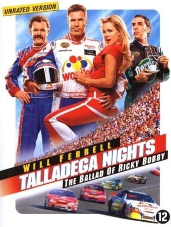 Cover van de film 'Talladega Nights: The Ballad of Ricky Bobby'