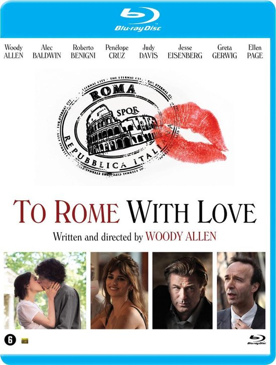 Cover van de film 'To Rome With Love'