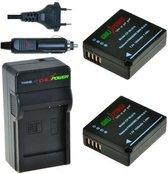 ChiliPower DMW-BLG10 Panasonic Kit - Camera Batterij Set