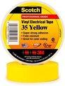 3M Tape Gele elektrische isolatie plakband 20 meter (Scotch)