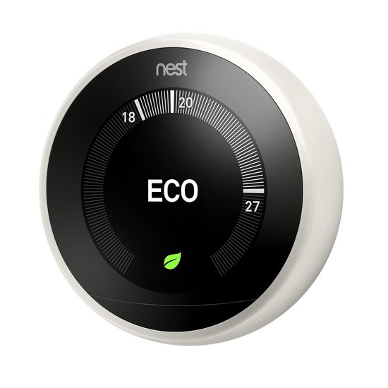 Google Nest Learning Thermostat - Slimme thermostaat - Wit