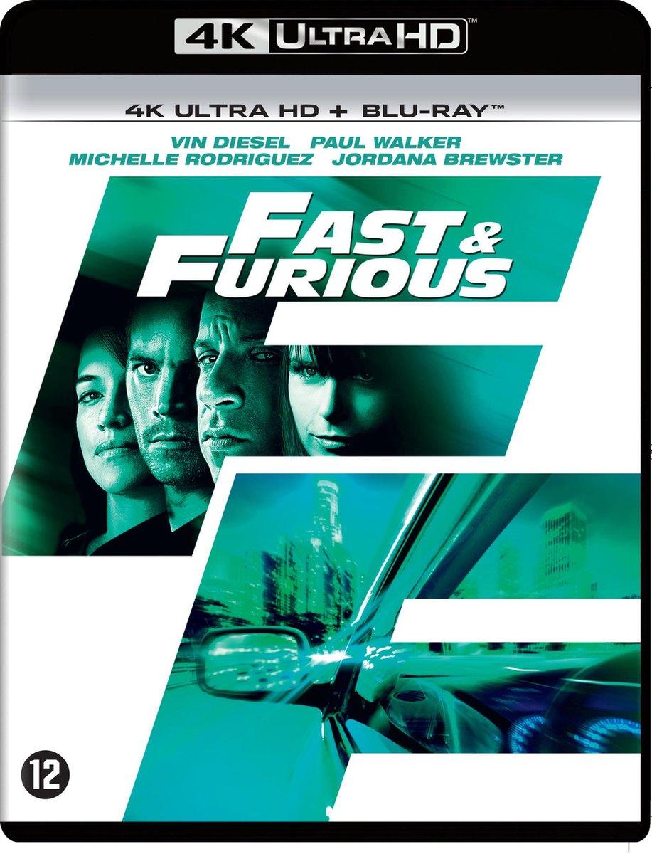 Fast & Furious 4 (4K Ultra HD Blu-ray)-