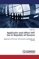 Applicatin and Effect Vat Tax in Republic of Kosovo