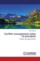 Conflict Management Styles of Principals