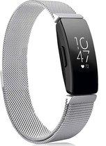 YONO Fitbit Inspire Bandje - HR - 2 - Milanees - Zilver – Small