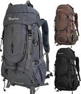 Beefree Backpack - Rugzak - 70 Liter - Inclusief regenhoes - Grijs