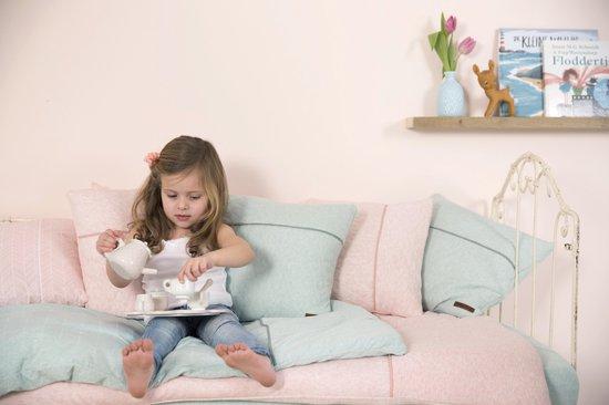 Little Dutch Speelgoed Houten Theeservies Met Dienblad - Roze