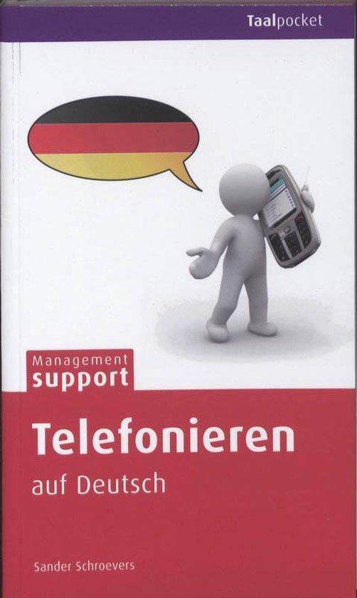 Cover van het boek 'Telefonieren auf Deutsch' van  Schroevers