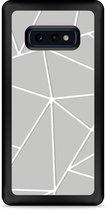 Galaxy S10e Hardcase hoesje Triangles