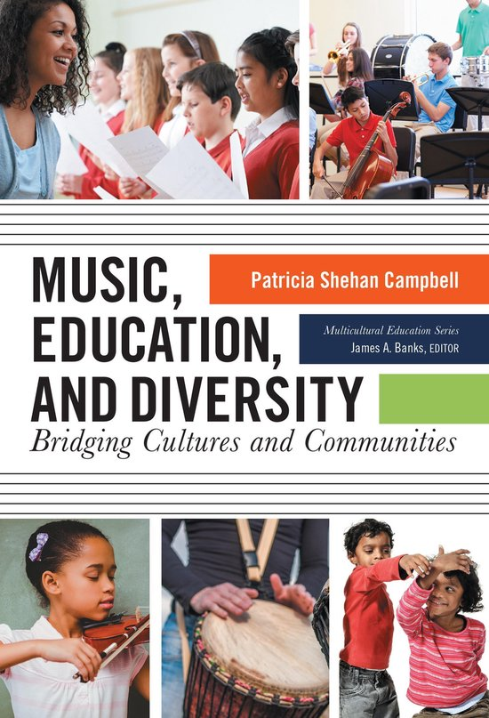 Boek cover Music, Education, and Diversity van Patricia Shehan Campbell (Onbekend)