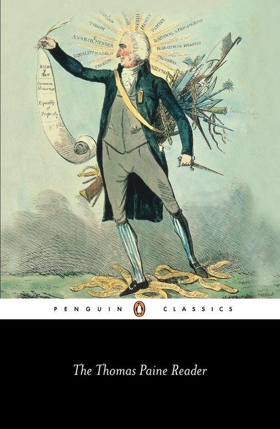 Boek cover Thomas Paine Reader van Thomas Paine (Onbekend)