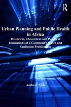 Omslag Urban Planning and Public Health in Africa