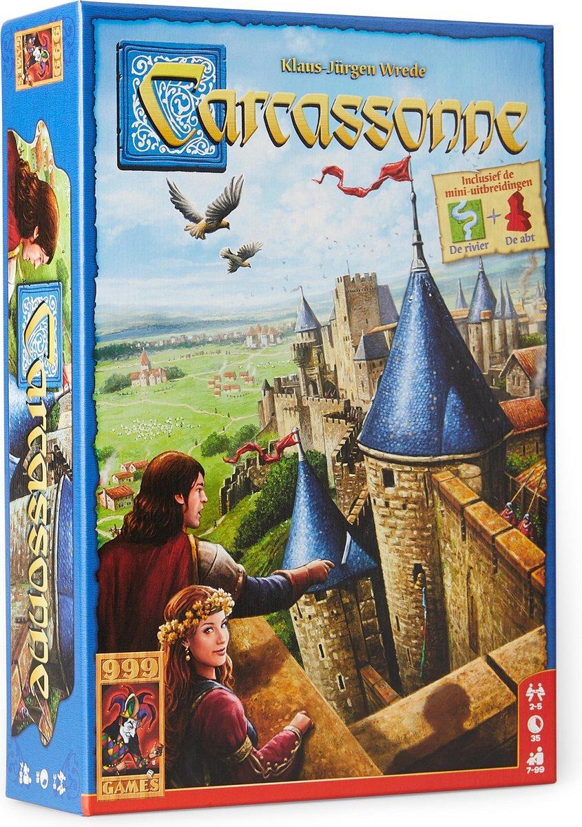 Carcassonne - Basisspel - Nieuwe Editie - 999 Games